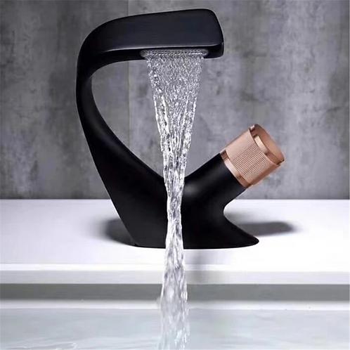 Volga Black Gold Vanity Faucet