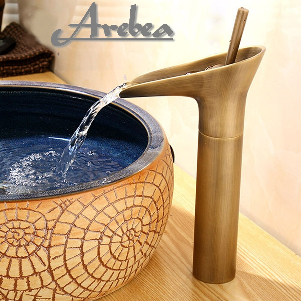 Arebea Vanity Faucet for Vessel sink