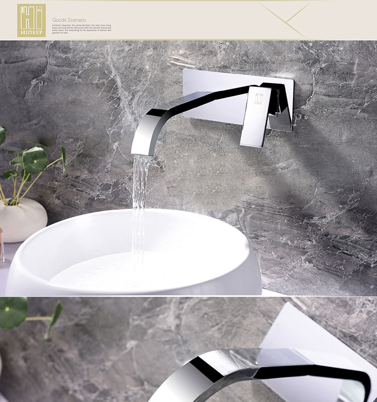 HD wall mount faucet