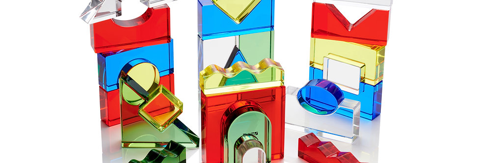 TickiT - Colour Crystal Block Set