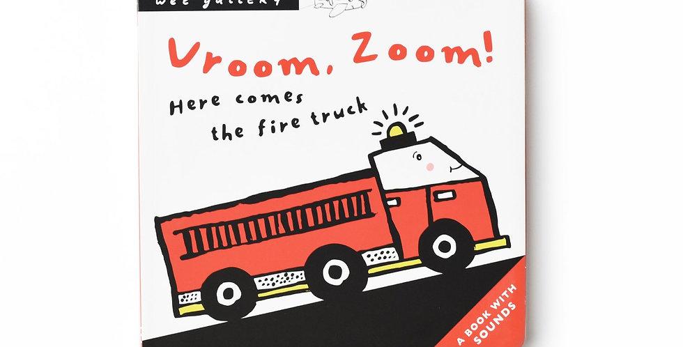 Wee Gallery - Vroom, Zoom! Press & Listen Book