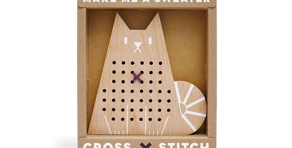 Moon Picnic - Cross Stitch Friends (Cat)