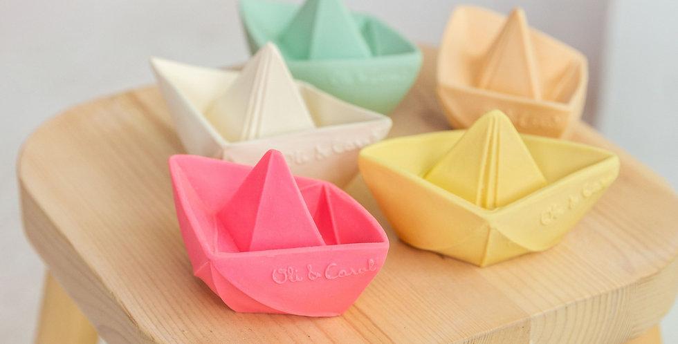 Oli & Carol - Origami Boat