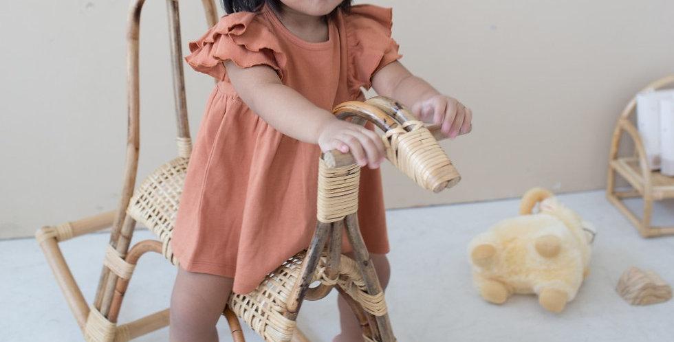 Cotton Cub - Ruffle Dress & Bloomers