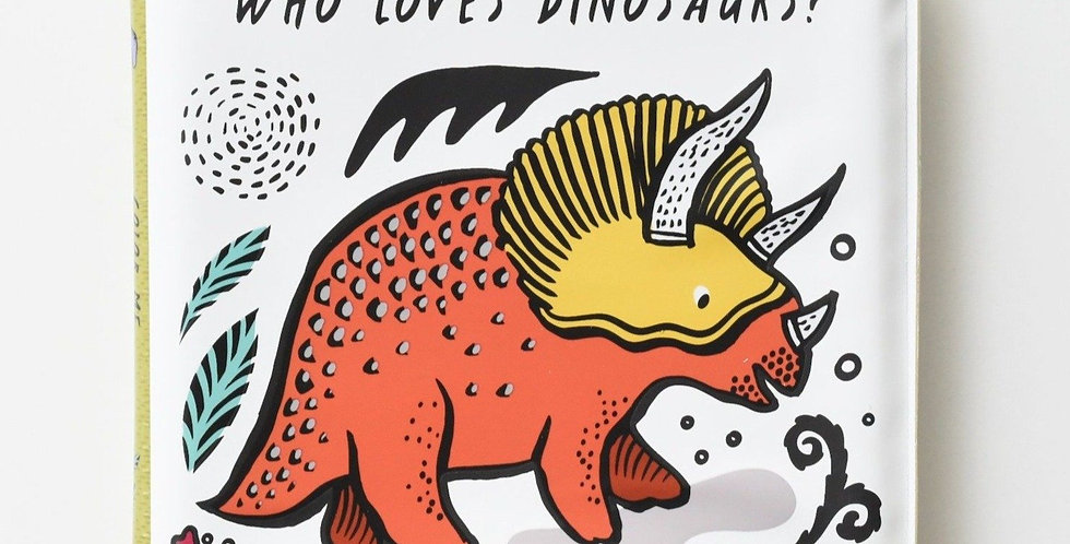 Wee Gallery - Color Me : Who Loves Dinosaurs?