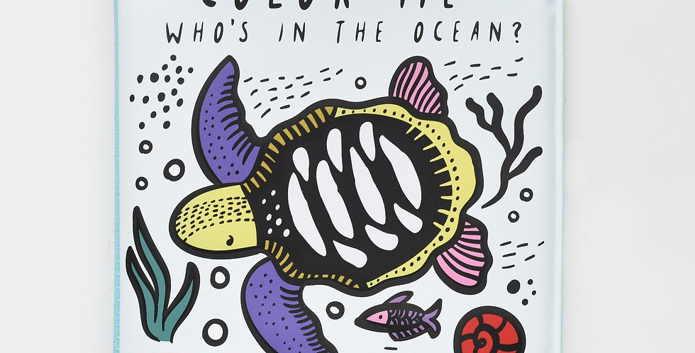 Wee Gallery - Color Me : Who's in the ocean?