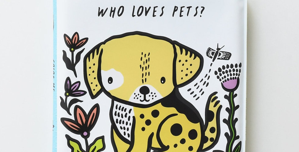 Wee Gallery - Color Me : Who loves pets?
