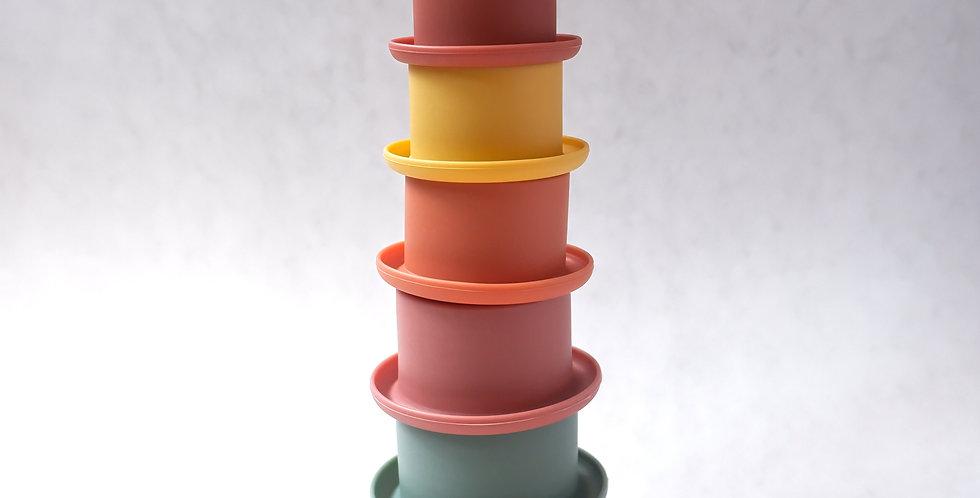 Tic Tac Stacking Cups - Ocean