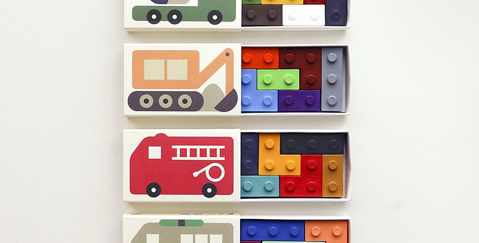 Goober - Pocket Crayons (Cars)