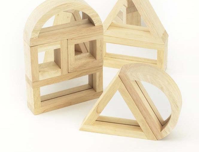 TickiT - Large Mirror Block Set