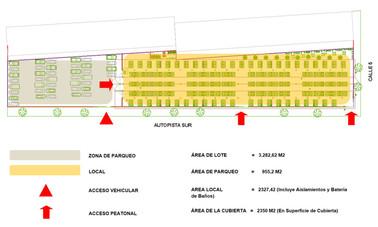 MADRUGON - Food market (Site plan)