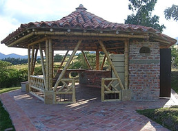Barbecue shed in Guasca, COL