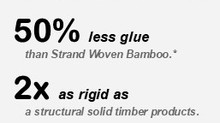 Densified + Engineered  Structural Bamboo