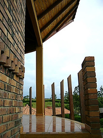 Timber country house-Villa Ortiz