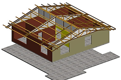Roof structure Pandi.