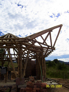 Barbecue shed in Ocaña, COL