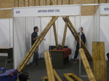 Exhibition booth at CCB startUp's EXPO-2009
