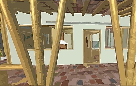 Holiday house in Ocaña.