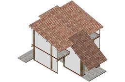 Bambo low cost house-La Verde