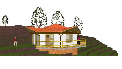 Cabin lodge Casa Luengas