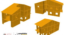 Cross laminated bamboo panels  (G-XLam), a feasible alternative for  low-rise buildings in Europe.
