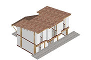 Bamboo low-carbon architecture, construction and structural engineering