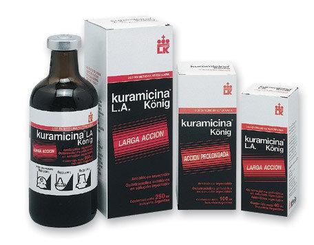 Kuramicina L.A. Solución Inyectable Esteril 40 ml