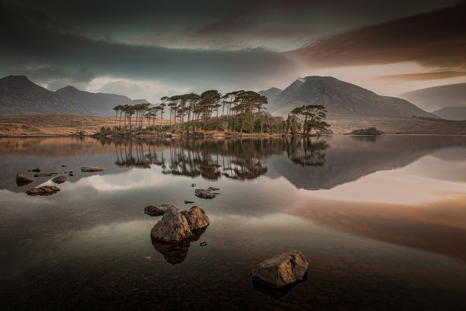 COLOUR - Reflections on Pine Island by Roy Crawford (12 marks)