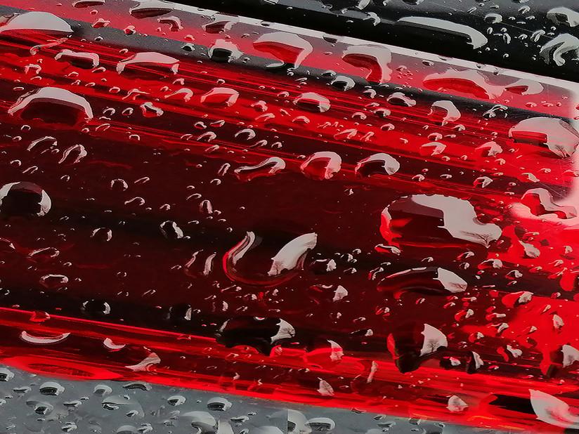 PDI - Rain Drops on rear Light by Theresa Murray (6 marks)