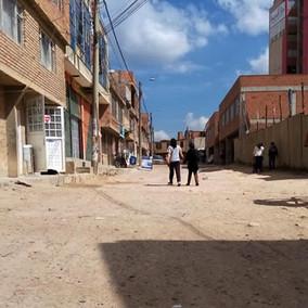 Delincuentes hacen de las suyas a escasos metros de un CAI en Soacha