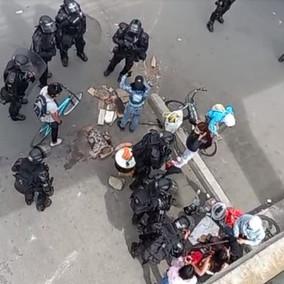 Identificadas las dos personas capturadas por la Policía en Soacha