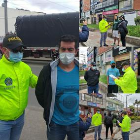 Capturan a 5 personas por los hechos vandálicos contra el peaje de San Miguel