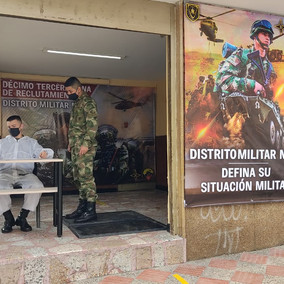 Jornada de amnistía en el Distrito Militar de Soacha