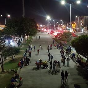 Sin bloqueos avanza un nuevo día de protestas en Soacha