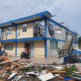 Destrucción total en Providencia por el huracán Iota