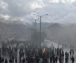 Ministerio de Defensa ordenó despejar las vías del país