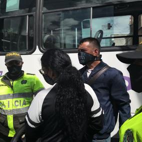 Capturados dos presuntos asaltantes en Soacha Centro