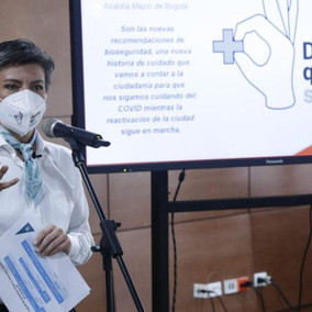 Bogotá iniciará plan de vacunación con 12.562 dosis