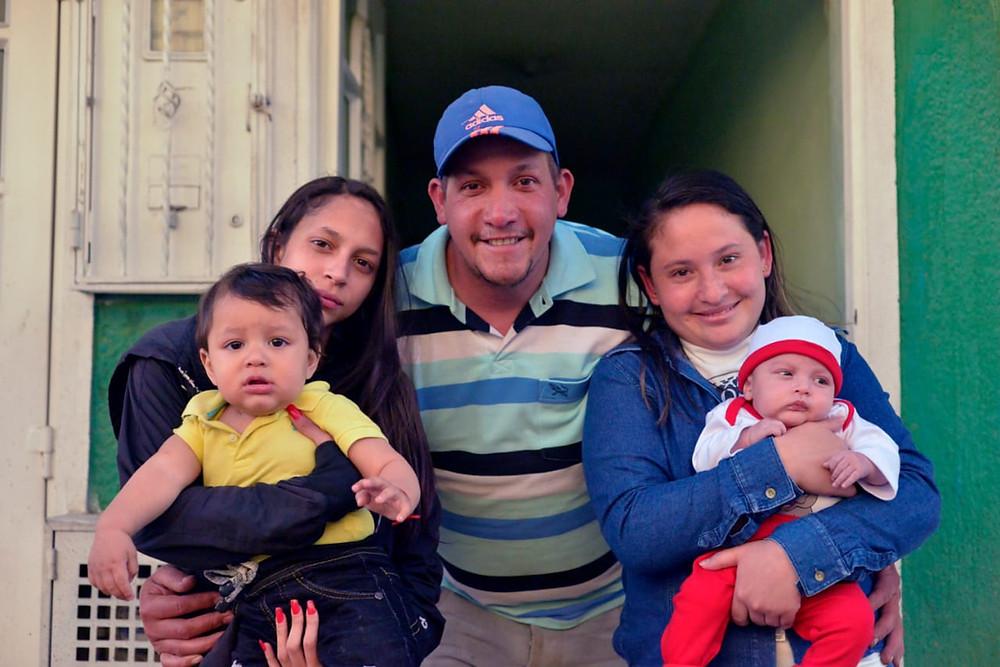"""""""A pesar de los problemas, familia es familia y cariño es cariño"""""""