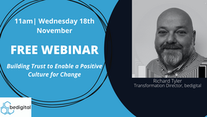 Webinar: Building Trust to Enable a Positive Culture of Chane