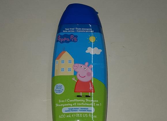 shampoing et revitalisant peppa pig