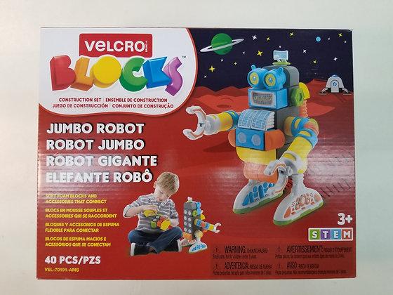 ROBOT GÉANT VELCRO BLOCKS 40 PCS