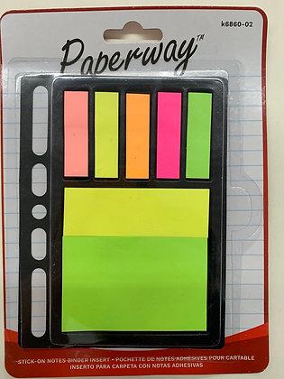 Pochette de note adhésives paperway