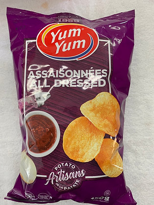 Chips assaisonné yum yum