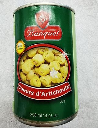 Coeur d'artichauts 398ml