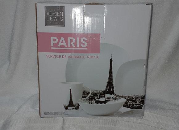 SERV VAISSELLE PARIS 16 PCS