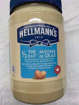 Mayonnaise Hellman's 1.8L moins de gras