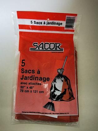 5 sacs a jardinage sacor