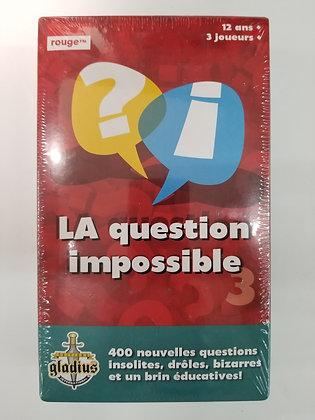 JEU QUESTION IMPOSSIBLE