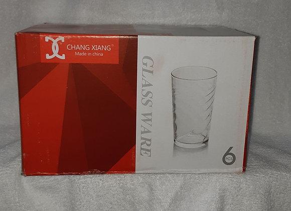 VERRES GLASS WARE ENS. DE 6